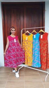 Baju Daster Payung Batik Yukensi Warna