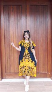 Daster Batik Cantik Merk Ratu Busana