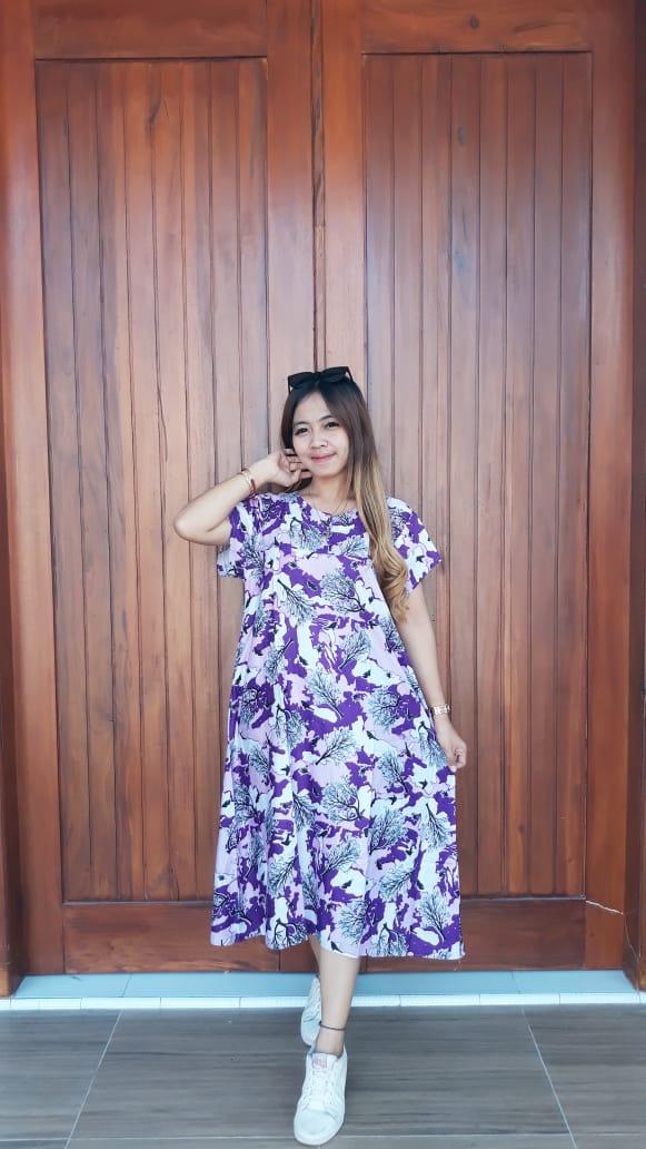 Daster Batik Cantik Semi Payung Yulia