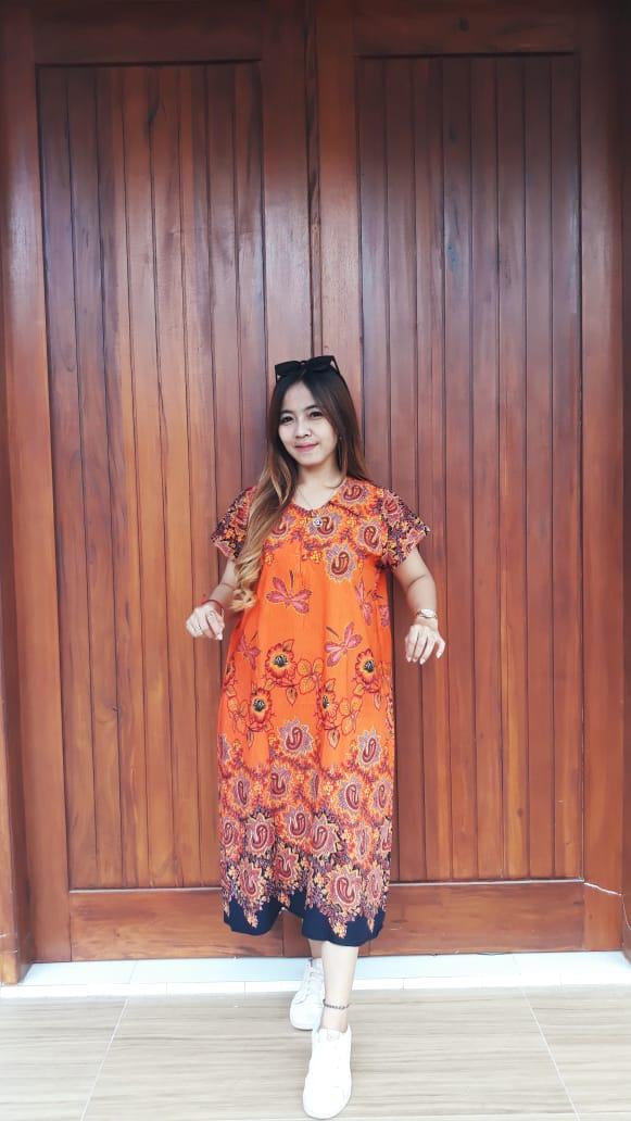 Daster Batik Ratu Busana Lengan Pendek