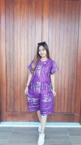 Setelan Batik Murah Celana Lengan Pendek