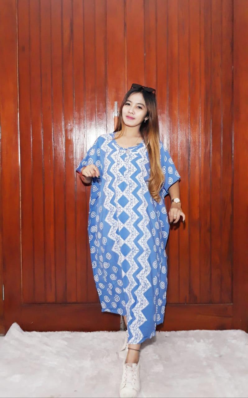 Daster Batik Kelelawar Pendek Warna Pastel