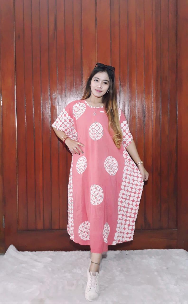 Daster Batik Lowo Pendek Warna Pastel