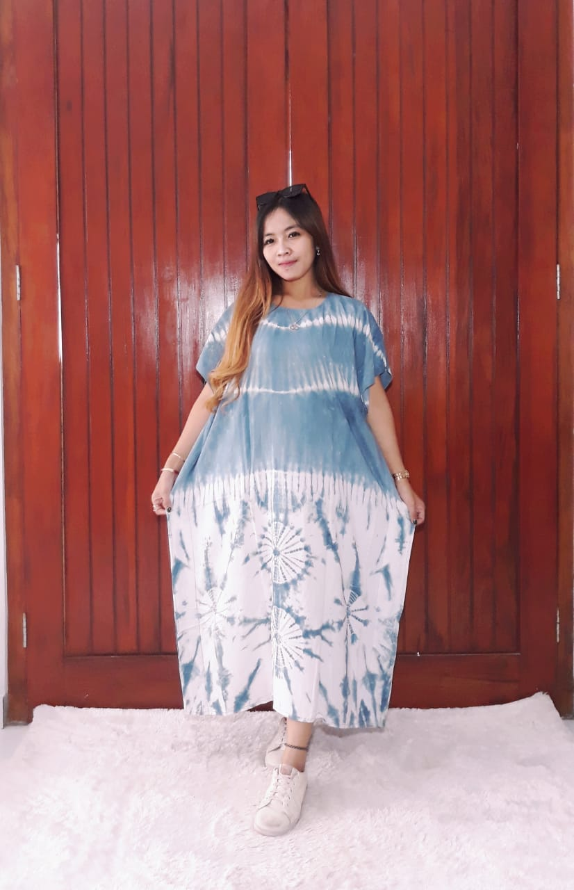 Daster Batik Oblong Kelelawar Tie Dye