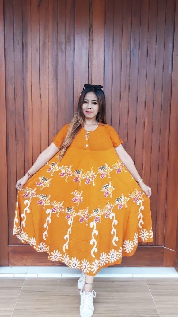 Daster Batik Payung Lengan Pendek