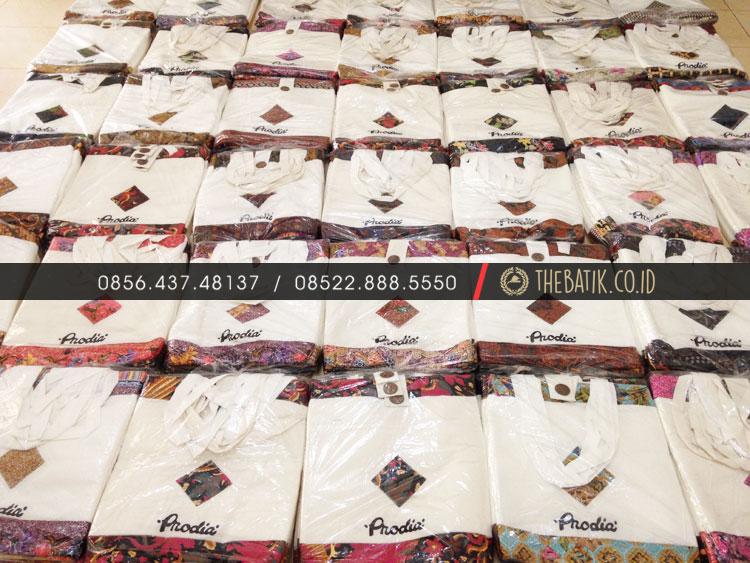 Tas Promosi Batik Souvenir Pelanggan Laboratorium PRODIA