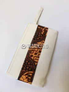 Souvenir Tas Pouch Clutch Dompet Blacu Batik