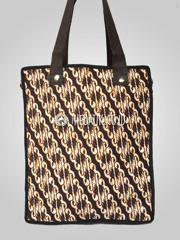 Souvenir Tas Tote Bag Bahan Batik Serbaguna