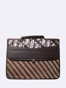 Souvenir Tas Dokumen Tikar Unik Kombinasi Batik