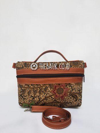 Souvenir Tas Pouch Clutch Kecil Batik Gift