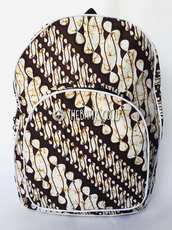 Souvenir Tas Ransel Punggung Murah Bahan Batik