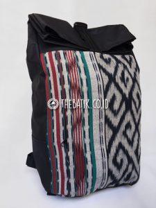 Souvenir Tas Backpack Ransel Tenun Eksklusif