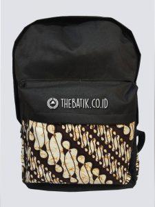 Souvenir Tas Punggung Ransel Laptop Kombinasi Batik