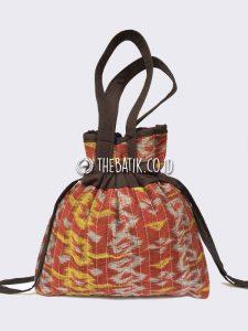 Souvenir Tas Serut Batik Wanita Tempat Sajadah Mukena
