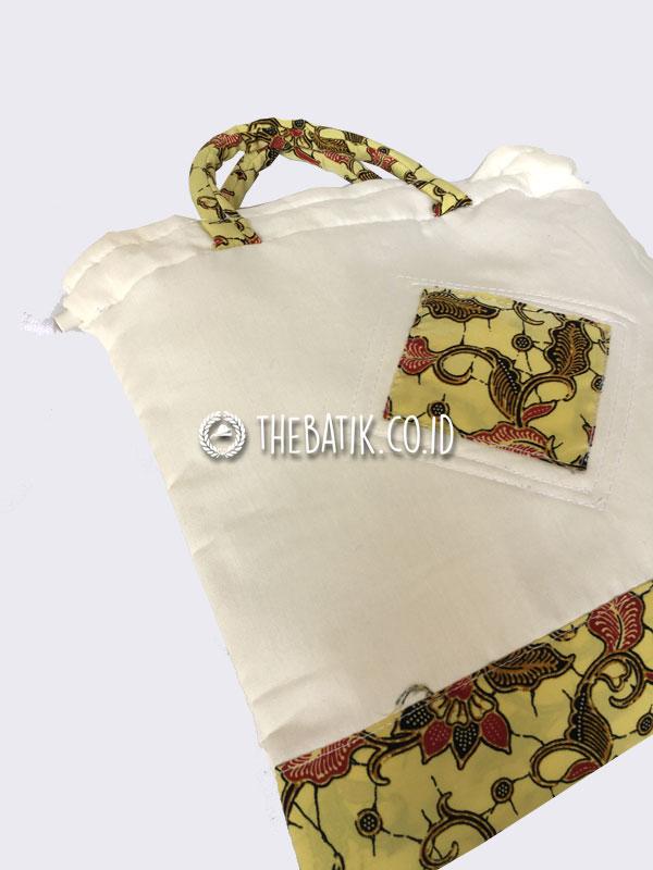 Souvenir Tas Serut Blacu Kecil Batik Murah