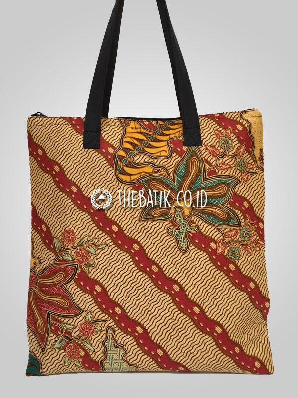 Souvenir Tas Tote Bag Jinjing Batik Polos Unik