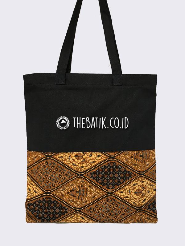 Souvenir Tas Totebag Kanvas Variasi Batik Klasik