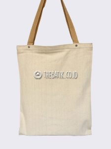 Souvenir Tas Eco Bag Jinjing Bahan Natural Kanvas