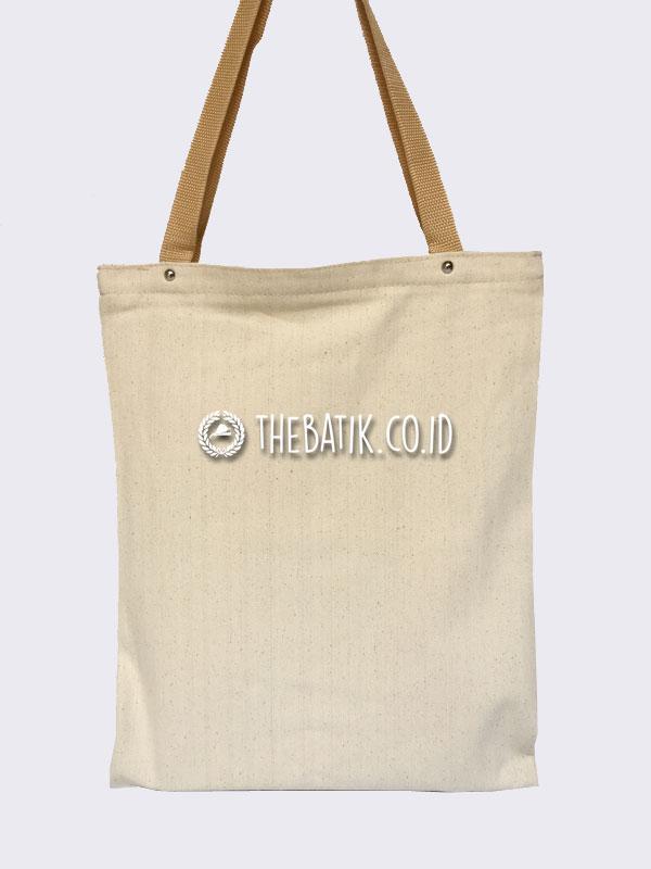 Souvenir Tas Eco Bag Jinjing Bahan Natural Kanvas