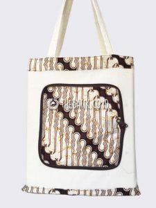 Souvenir Tas Lipat Batik Murah Custom Sablon