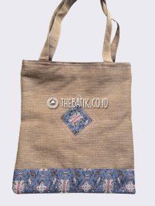 Souvenir Tas Jinjing Goni Jute Burlap Batik