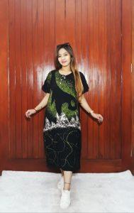 Baju Daster Batik Ciprat Lengan Pendek
