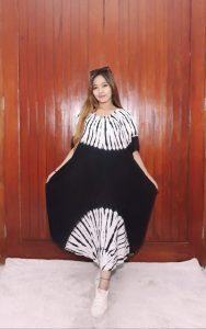 Baju Daster Batik Jumputan Shibori Polos Warna