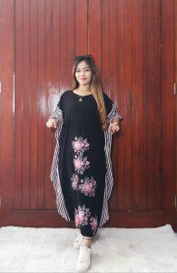 Baju Daster Batik Kelelawar Hitam Pekalongan
