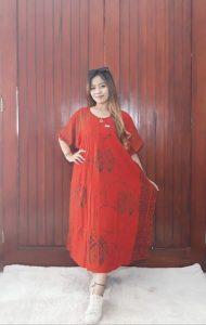 Baju Daster Batik Kelelawar Pekalongan Santung