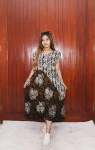Baju Daster Batik Klasik Tanpa Lengan Yukensi