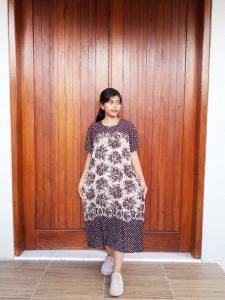 Baju Daster Batik Pekalongan Lengan Pendek