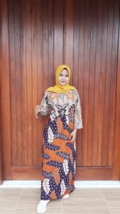 Baju Daster Batik Pekalongan Printing Lengan Panjang