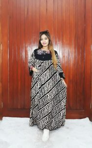 Baju Long Dress Daster Batik Pekalongan Panjang