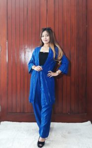 Baju One Set Tunik Tie Dye Kekinian Terbaru