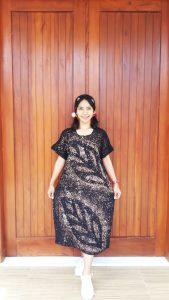 Daster Batik Ciprat Malaman Lengan Pendek