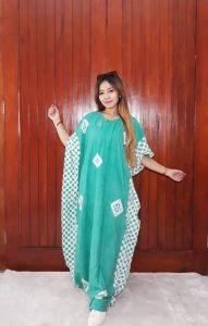 Long Dress Batik Kelelawar Lowo Panjang
