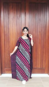 Long Dress Lowo Motif Batik Parang