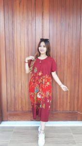 Baju Daster Batik Pendek Ratu Busana