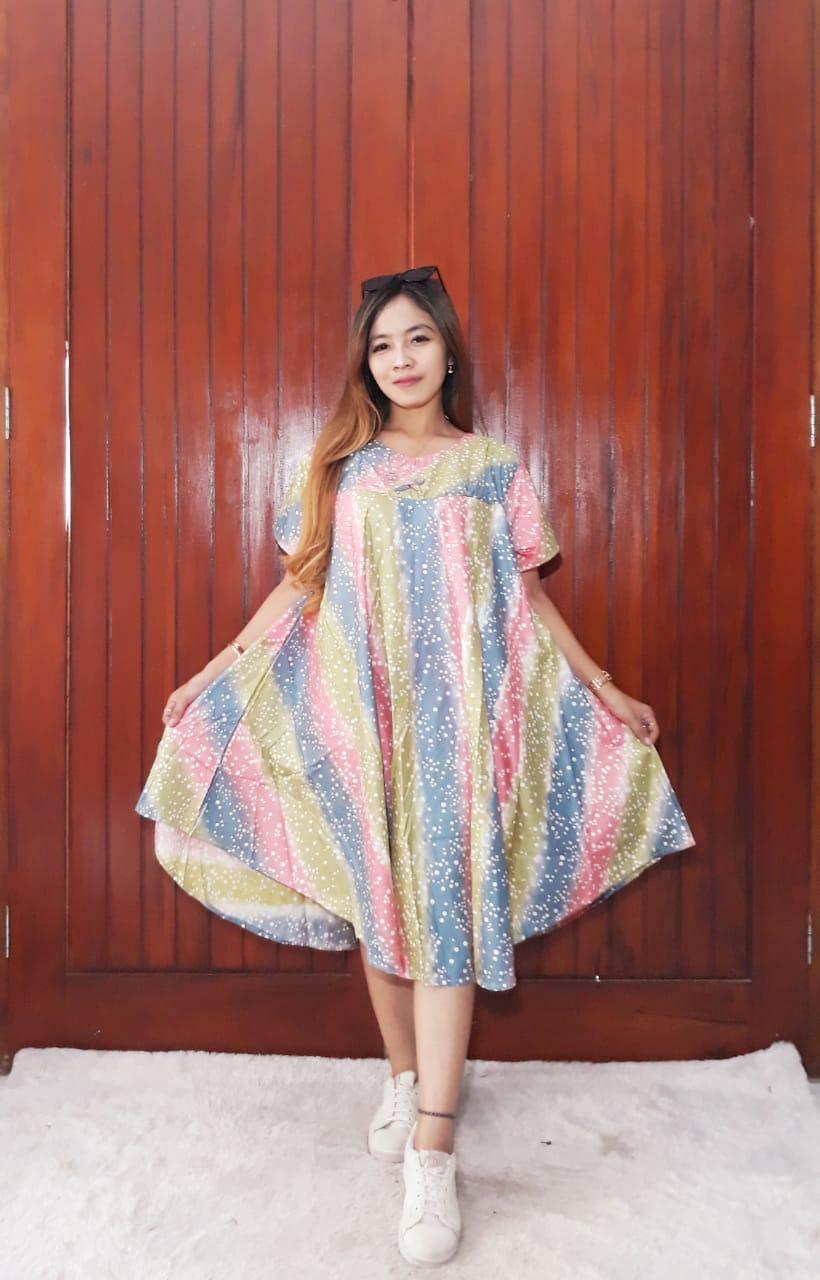 Baju Daster Payung Oblong Batik Print Murah