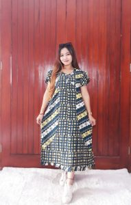 Daster Rempel Batik Cantik Busui Friendly