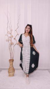 Baju Daster Lowo Jumputan Batik Rayon Adem