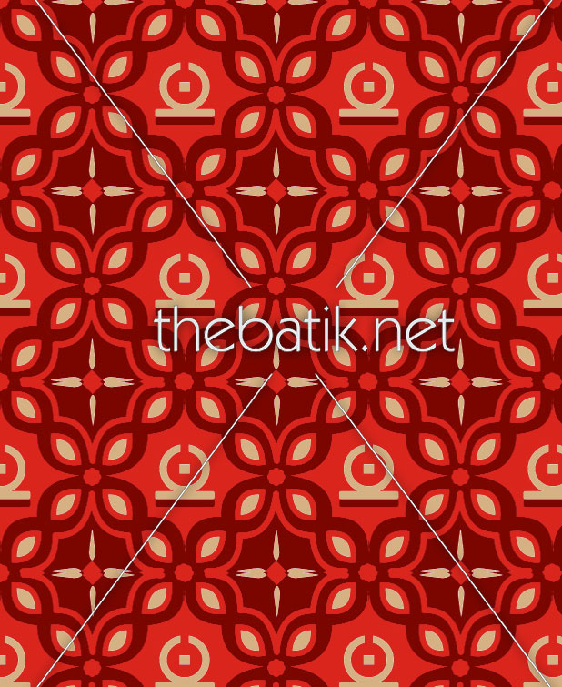 Bikin Batik Desain Sendiri – Design Seragam Batik Custom 3 Warna : Marun, Merah, Kuning Keemasan