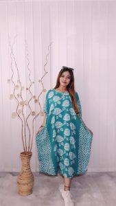 Daster Lengan Pendek Lowo Batik Warna Pastel
