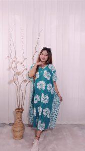 Daster Lowo Bahan Rayon Batik Pastel Warna