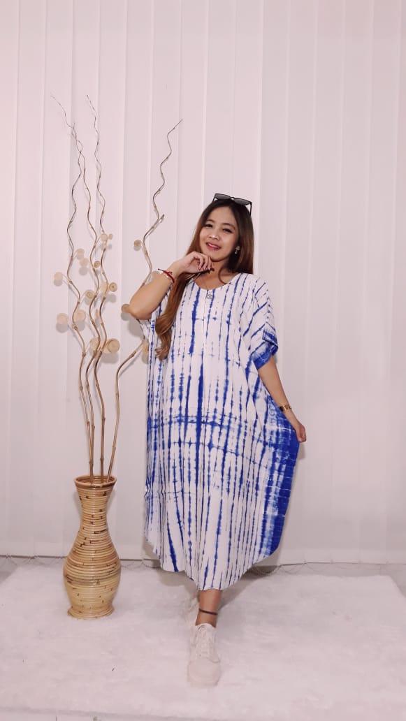 Daster Lowo Tie Dye Batik Rayon Adem
