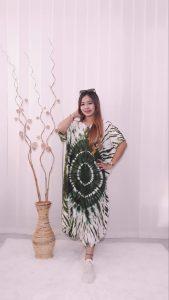Daster Rayon Model Kelelawar Batik Jumputan