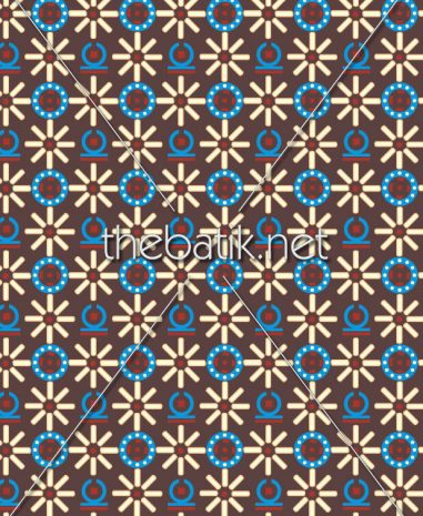 Kain Batik Motif Sendiri – Design Seragam Batik Custom 3 Warna : Coklat, Biru, Kuning