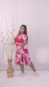 Setelan Pendek Batik Tie Dye Murah Rayon Adem
