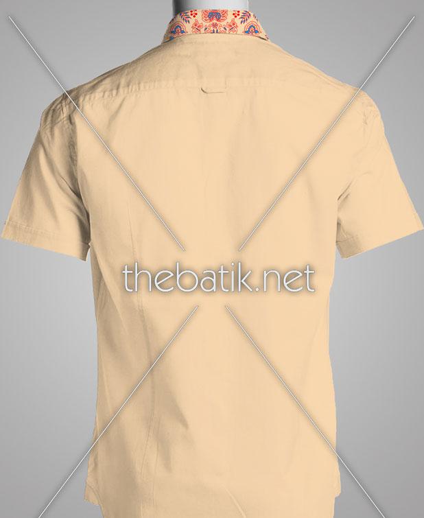 Tempat Pembuatan Batik dengan Desain Sendiri – Design Seragam Batik Custom 3 Warna : Merah, Biru, Krem