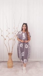 Baju Daster Batik Model Kelelawar Bahan Rayon Adem